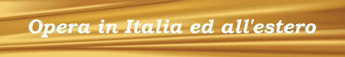 Italia ed estero